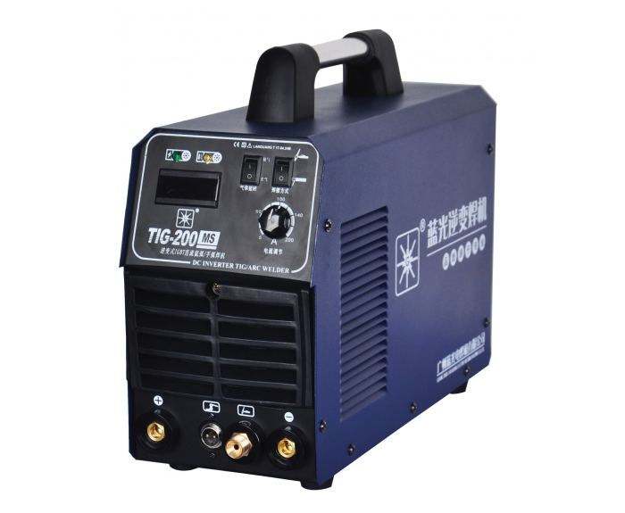 TIG-200MS (AC220v) DC argon arc / hand arc welding machine